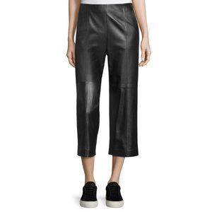 Vince Seam Trim Leather Culottes